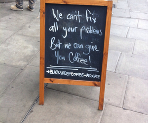 coffee, funny, and london image