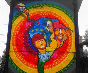 chile, Latin America, and street art image
