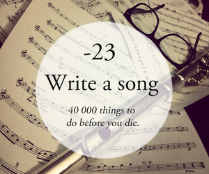 song and write a song image