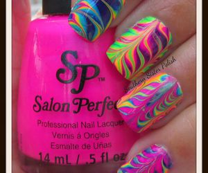 crazy, neon, and colorful image