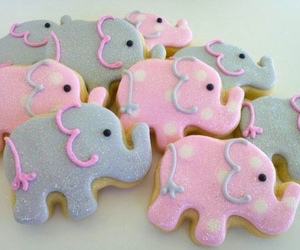 Cookies, elephant, and cute image