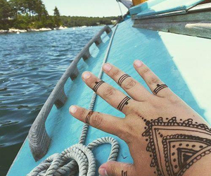 boat, free, and tattoo image