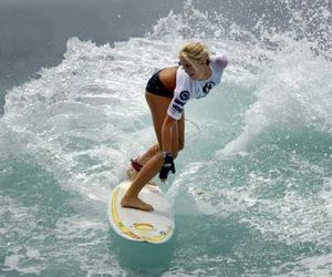 girl and surfer image