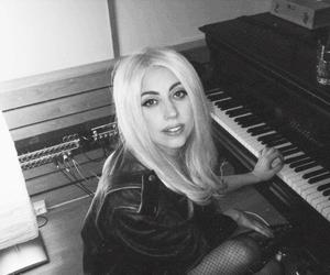 Lady gaga, piano, and gaga image