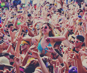 party, rave, and edm image