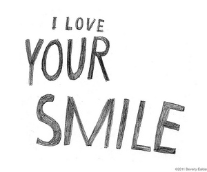 quote, smile, and love image