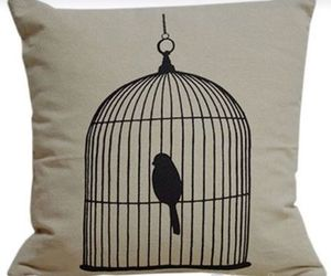 bird cage, home, and style image