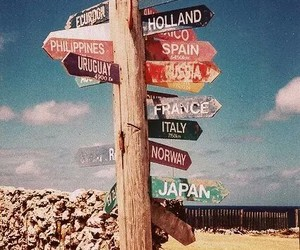goal, travel, and wanderlust image