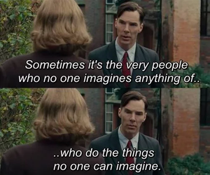 quote, the imitation game, and movie image