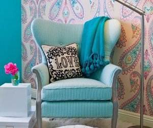 blue, home, and decor image