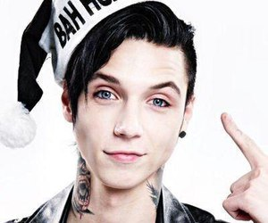 andy biersack, andy, and black veil brides image