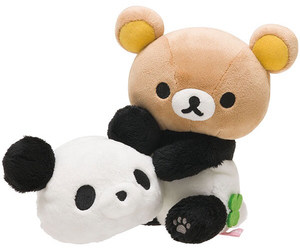 kawaii, panda, and rilakkuma image