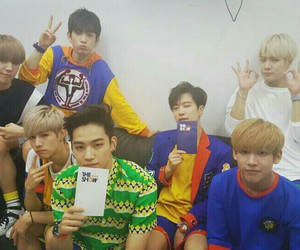 got7, JR, and youngjae image