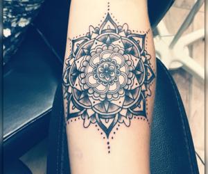 mandala and tattoo image