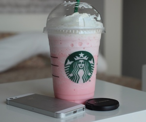 starbucks, drink, and iphone image