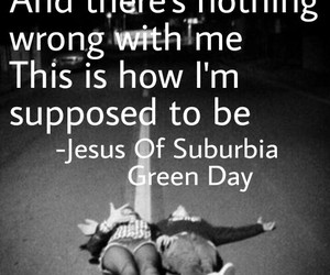 green day, jesus of suburbia, and music image