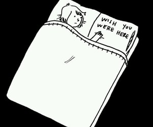 bed, wish, and you image