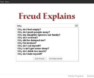 cry, freud, and lol image