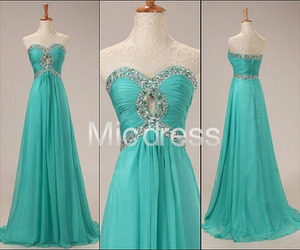 evening dress, fresh, and prom dresses image