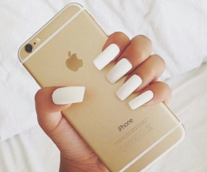 iphone, n, and nails image