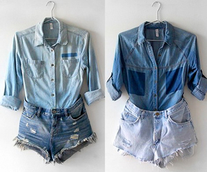 short and jeans image