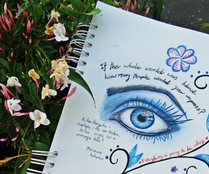 draw, drawing, and journal image