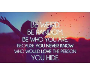 be yourself, happy, and love image