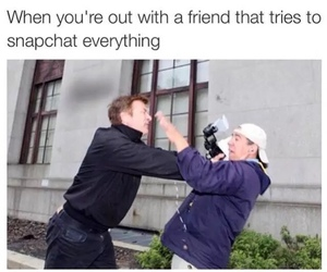 funny, snapchat, and friends image