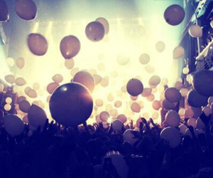 balloons, party, and fun image