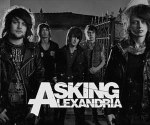 asking alexandria, aa, and band image