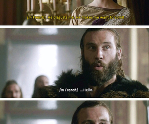couple, funny, and vikings image