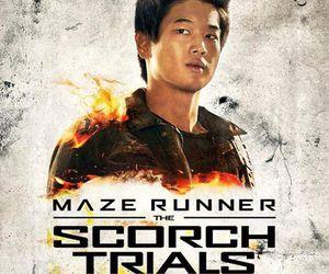 minho, ki hong lee, and the maze runner image