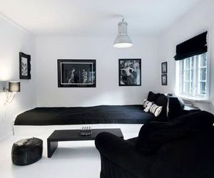 black, room, and home image