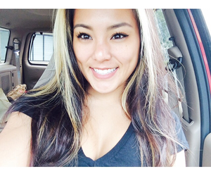 asian, selfie, and hair image