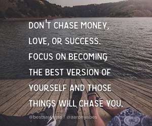 quote, success, and money image