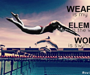 quotes, swimming, and sport image