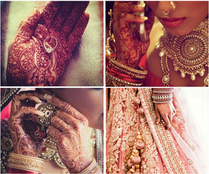 bangles, india, and wedding image