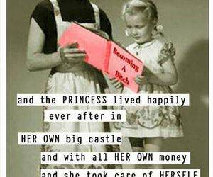 princess, castle, and girl power image