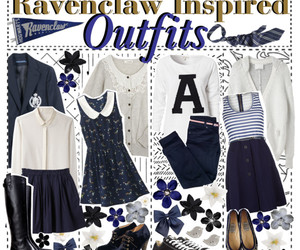 ravenclaw, clothes, and harry potter image