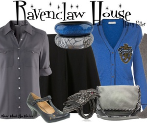 clothes, fashion, and ravenclaw image