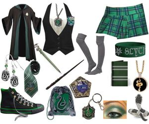 clothes, fashion, and slytherin image