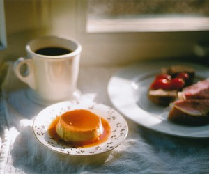 breakfast, vintage, and coffee image