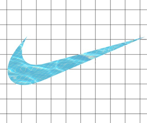 nike, blue, and grid image