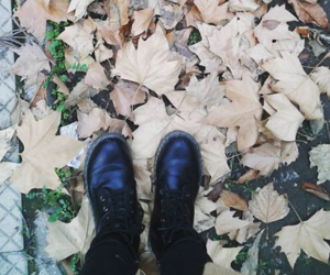 boots, fall, and photography image