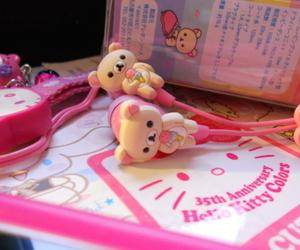 rilakkuma, cute, and pink image