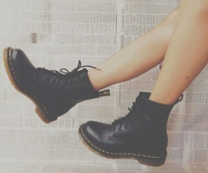 cool, fashion, and docmartens image