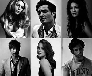 gossip girl, chuck, and nate image