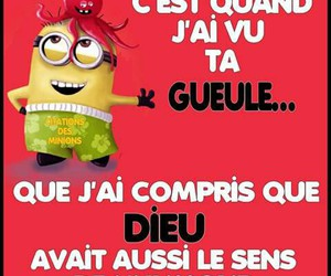 funny, quote, and minions image