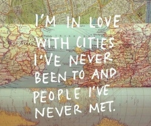 travel, city, and quotes image
