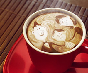coffee and family image